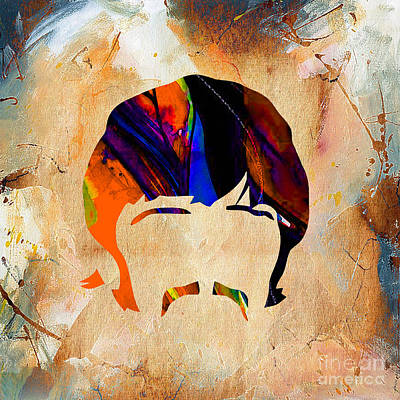 Ringo Starr Collection Art Print