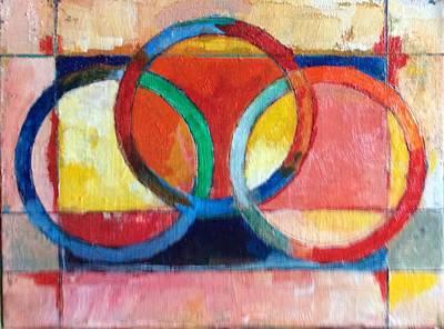 3 Rings II Art Print by Mark Opdahl