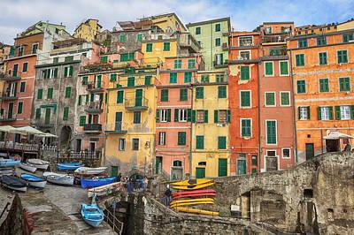Cinque Terre Photograph - Riomaggiore by Joana Kruse