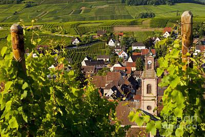 Riquewihr Alsace Art Print by Brian Jannsen