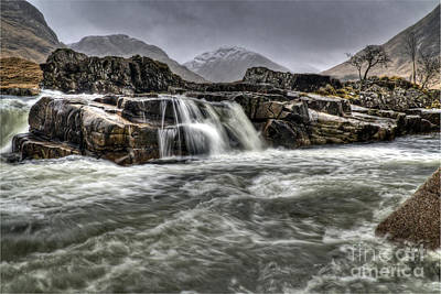 Photograph - River Etive by Fiona Messenger