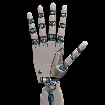 Future Photograph - Robotic Hand by Ktsdesign