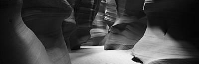 Apache Lake Photograph - Rock Formations, Antelope Canyon, Lake by Panoramic Images