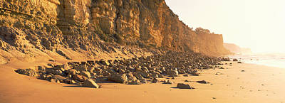 Lagos Photograph - Rock Formations On The Beach, Lagos by Panoramic Images