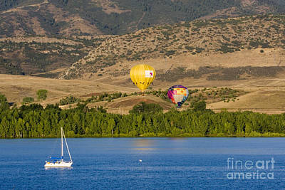Steve Krull Royalty-Free and Rights-Managed Images - Rocky Mountain Balloon Festival by Steve Krull
