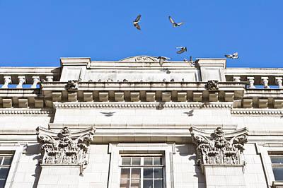 Balustrade Photograph - Roman Architecture by Tom Gowanlock