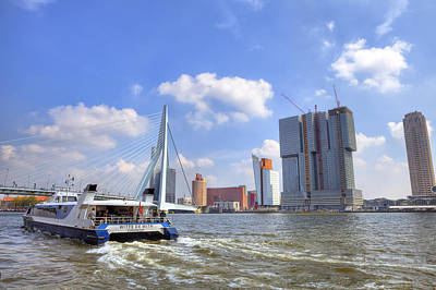 Maas Photograph - Rotterdam by Joana Kruse
