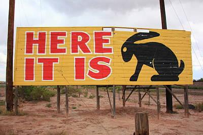 Route 66 - Jack Rabbit Trading Post Art Print
