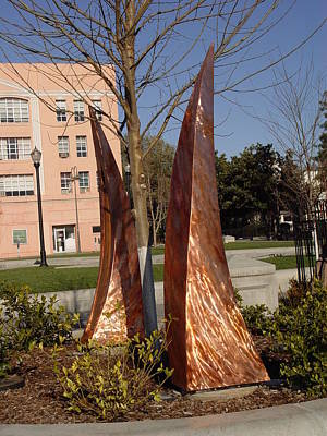 Sculpture - Rustic Embrace  by Peter Piatt