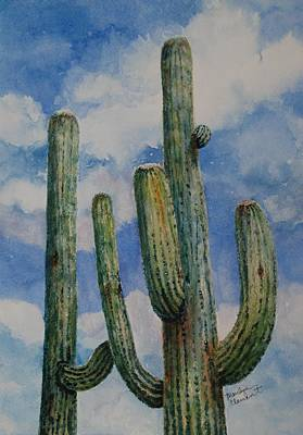 Painting - Saguaro Cactus by Marilyn  Clement