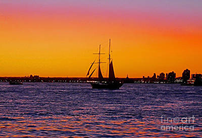 Photograph - Sailing by Kendall Eutemey