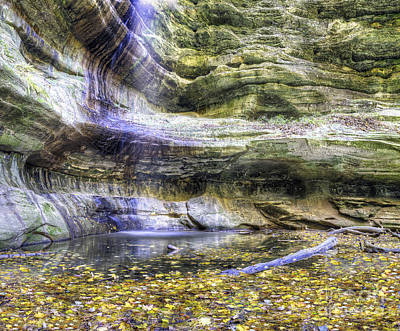 Starved Rock Wall Art - Photograph - Saint Louis Canyon At Starved Rock by Twenty Two North Photography
