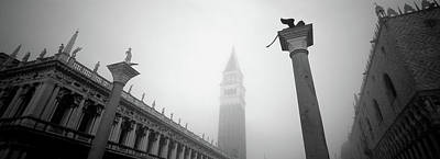 Doges Palace Photograph - Saint Marks Square, Venice, Italy by Panoramic Images