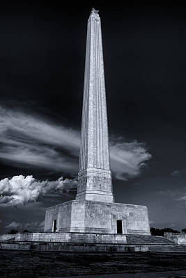 Photograph - San Jacinto Monument One Sky One Star by Joshua House