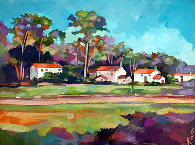 Santa Barbara Painting - Santa Barbara by Filip Mihail