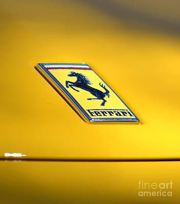Photograph - Santana Row Exotic Car by Dean Ferreira