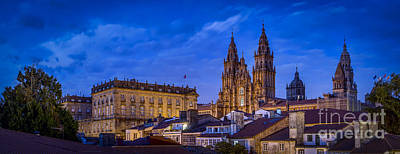 Photograph - Santiago De Compostela Cathedral Galicia Spain by Pablo Avanzini