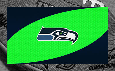 Seahawks Photograph - Seattle Seahawks by Joe Hamilton