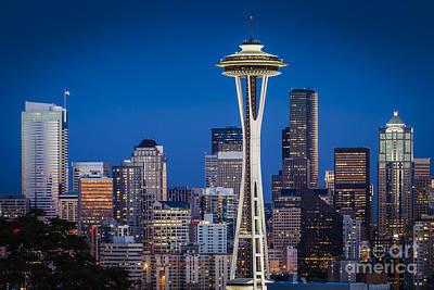 Photograph - Seattle Skyline by Brian Jannsen