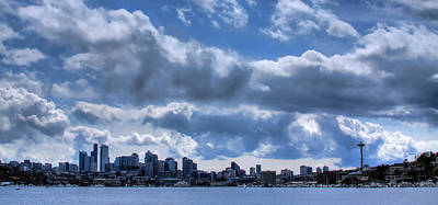 Space Needle Photograph - Seattle Skyline by David Patterson