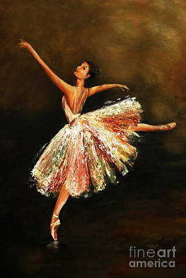 Painting - Second Arabesque by Nancy Bradley