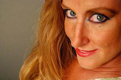 Photograph - Self Portrait - My Mischievous Side by Jani Freimann
