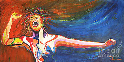 Painting - Shout by Diana Bursztein