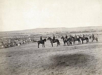 Appleton Photograph - Sioux Encampment, 1891 by Granger