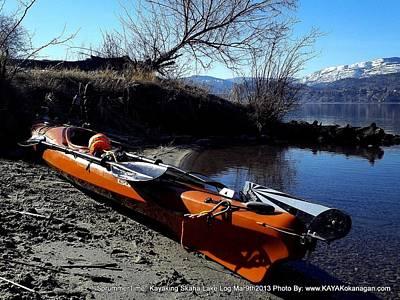 Skaha Lake Calm Art Print by Guy Hoffman