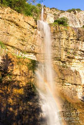 Bath Time Rights Managed Images - Skaklia Waterfall Royalty-Free Image by Jivko Nakev