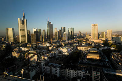 Financial District Photograph - Skyline Of Frankfurt, Financial by Altrendo Travel