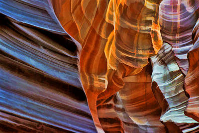 Photograph - Slot Canyon by Allen Beatty
