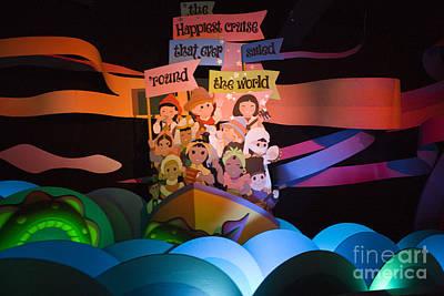 Featured Tapestry Designs - Small World Disneyland by Jason O Watson
