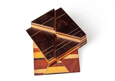 Sopwith Model Vi: Mineral Veins Intersect Art Print