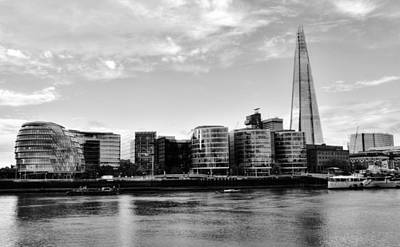 Photograph - Southwark Skyline by Chris Day