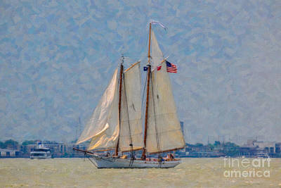 Spirit Of Sc Art Print by Dale Powell