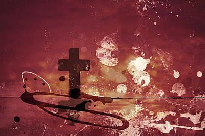 Religion Digital Art - Spiritual Abstract by Modern Art Prints