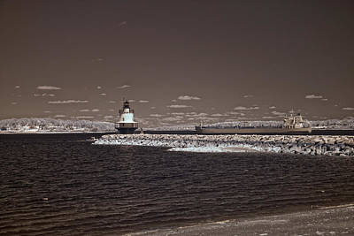 Photograph - Spring Point Ledge Light by Joann Vitali