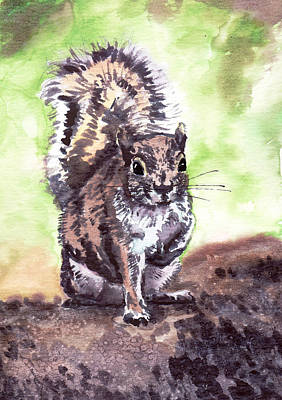 Squirrel Original by Masha Batkova