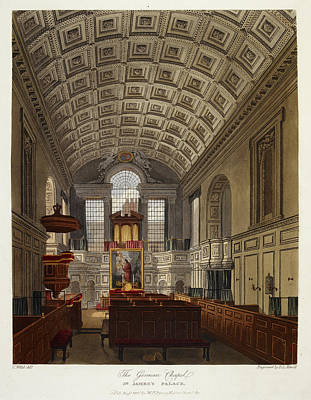 Royal Chapel Photograph - St. James's Palace by British Library