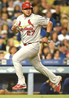 Photograph - St Louis Cardinals V Los Angeles Dodgers by Harry How
