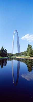 Jefferson National Expansion Memorial Photograph - St Louis Mo by Panoramic Images