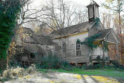 Branch Photograph - St Simon Church Peak Sc 3 by Lisa Wooten