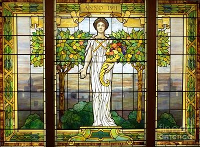 Stained Glass Window Art Print by Kathleen Struckle
