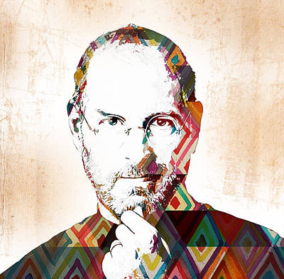 Movie Painting - Steve Jobs by Celestial Images