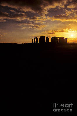 Photograph - Stonehenge United Kingdom by Ryan Fox