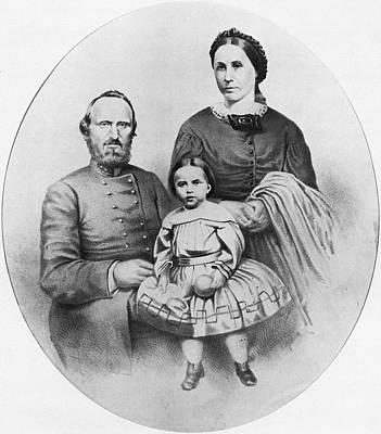 Stonewall Jackson (1824-1863) Art Print