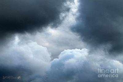 Photograph - Storm Clouds by J McCombie