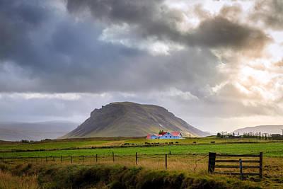 Horse Photograph - Storm Over Farm by Alexey Stiop