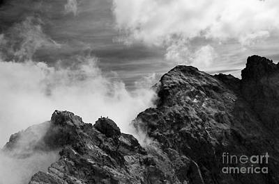 Photograph - Stormy Mountains Landscape by Michal Bednarek